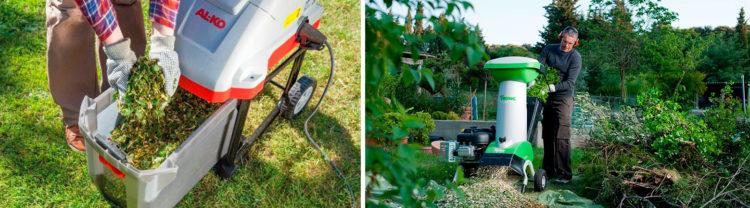 Лучшие измельчители садового мусора