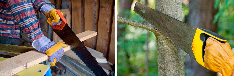 Виды ножовок по дереву и их назначение