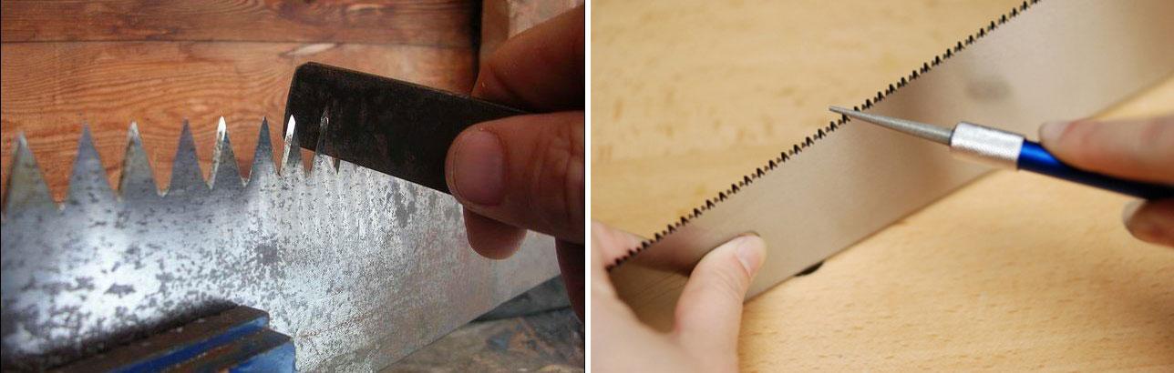 Инструмент для заточки ножовки по дереву