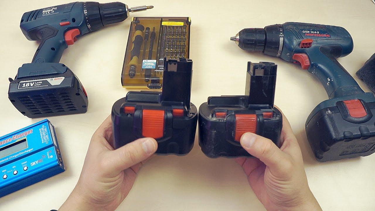 Восстановление литий ионных аккумуляторов после глубокого разряда