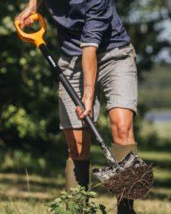 лопаты Fiskars