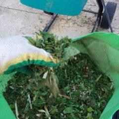 Измельчитель травы садовый