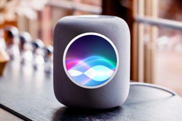 Apple HomePod с Siri