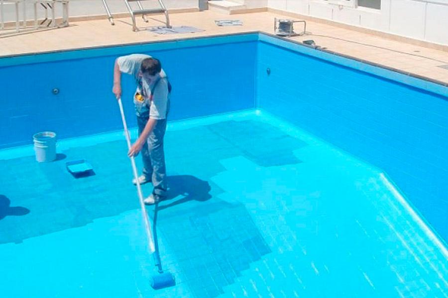 гидроизоляция чаши бассейна, ванной комнаты или других влажных помещений;